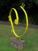 """""""Yellow Glyphe"""" by Suvira McDonald"""